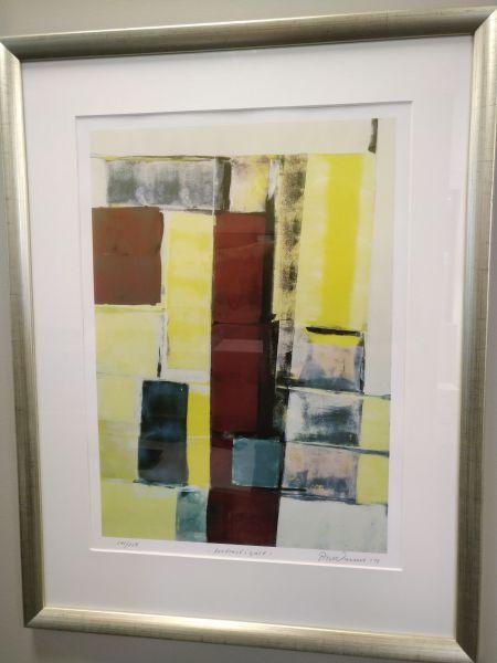 P. Warnur - Kontrast i gult